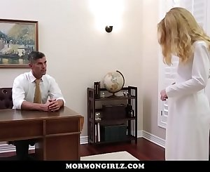 Mormon Girlz- Red Head Exploited At Church