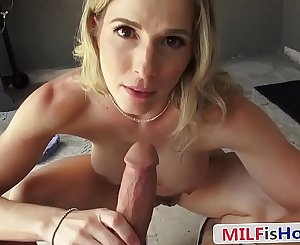 Athletic Mommy Fucks Her Stepson While Husband's Away - Cory Chase