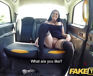 Fake Taxi Sexy ass chick with pierced shaven pussy loves cabbies thick shaft