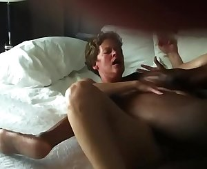 Black man fucking the shit out of White woman Milf for a good second