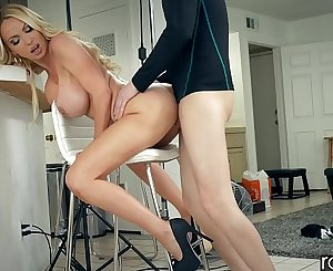 RawAttack - Big booty Nikki Benz is fuked by a monster cock, interview