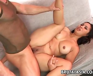 Asian babe Nakia Ty gets her beaver and ass fucked